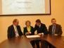 Podpisanie projektu współpracy Tryńcza 08.10.2010
